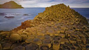 Giant's Causeway (Damm des Riesen) in Irland