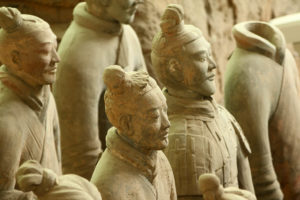 Steinfiguren aus China