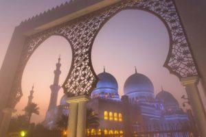 Übermorgenland Sheikh Zayed Moschee Abu Dhabi