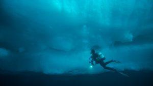 Eisberg Tauchen