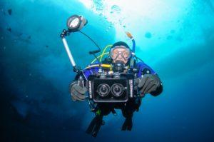 Referentenportrait Unterwasser Grönland